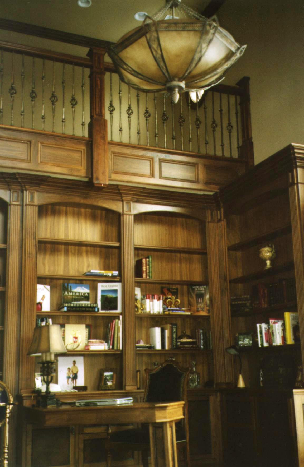 Custom Walnut Library