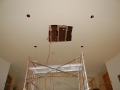 Renovation of Custom Dome Ceiling Before
