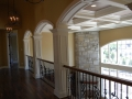 Custom 5-piece Coffered Colonial Ceiling and Columns