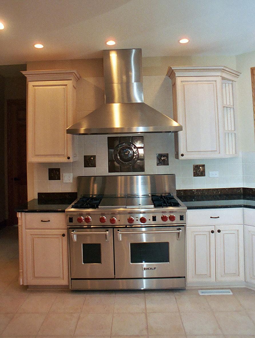 Gourmet Wolf Range Appliance